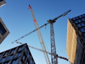 Renditeobjekte bleiben eine Stütze der Schweizer Baukonjunktur – auch wenn die Baugesuche im März auf hohem Niveau abnahmen (Bild: Europaallee Zürich).