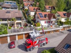 Saugbagger der Erne AG Bauunternehmung