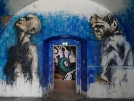 Graffiti von Guy Denning im Mausa
