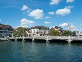 Rudolf-Brun-Brücke in Zürich