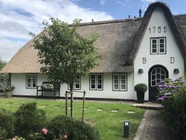 Reetdachhaus in Keitum auf Sylt