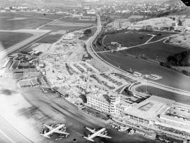Flughafen Zürich im Jahr 1959