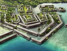 Nan Madol im Archipel der Karolinen