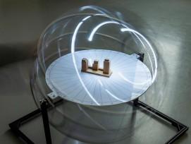 Mobiler Heliodon der Hochschule Luzern