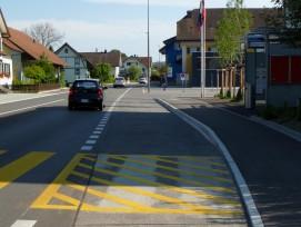 Busplatte in Schaffisheim