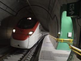 Testfahrt Mitte Juni im Ceneri-Basistunnel
