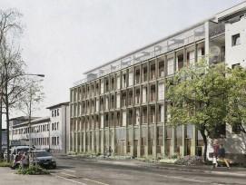 Visualisierung des Projekts Promenadendeck in Basel-Stadt