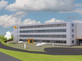 Visualisierung Tiba-Neubau in Liestal