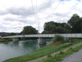 Reussbrücke in Mühlau