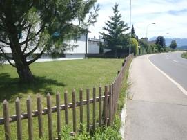 Holzhäusernstrasse in Hünenberg.