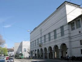 Kunstmuseum Basel mit Neubau