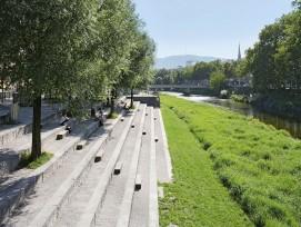 Sigi Feigel-Terrasse an der Sihl in Zürich