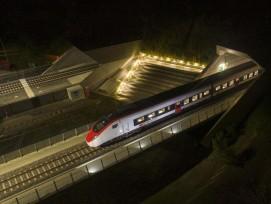 Testfahrt mit Giruno-Zug durch Ceneri-Basistunnel