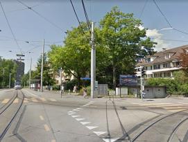 Kreuzung Bernstrasse Bethlehemstrasse in Bern