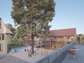 Visualisierung Neubau Stiftun Brüttelenbad