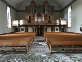 Evangelisch-reformierte Kirche Herzogenbuchsee nach Brand