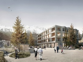 Visualisierung Alterszentrum Du Lac in St. Moritz