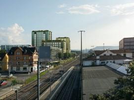 Münchenstein VanBaerle-Areal grünes Wohnquartier