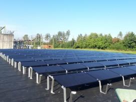 Neue Solaranlage beim UW Altgass