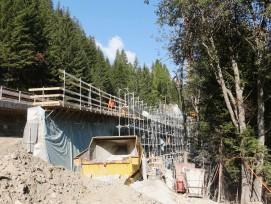 Stützmauer  Crestawald 1