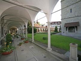 Gräberhallen an der Hofkirche Luzern