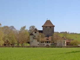 Schloss Hegi Winterthur von Westen