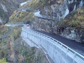 Bristenstrasse im Kanton Uri