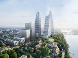 Roche Basel Bürohochhäuser Bau 3