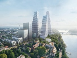 Roche Türme Hochhäuser Basel Herzog & de Meuron