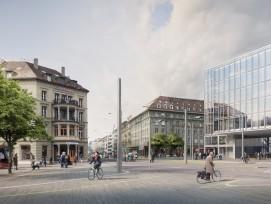 Visualisierung neuer Bubenbergplatz in Bern