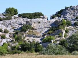 Überreste der Mühlen von Barbegal