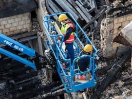 Brand Sanierung Blockrandbebauung HB Zürich