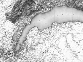 Dufourkarte Genferseeregion