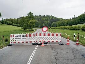 «abgeriegelt. Schweizer Grenzen im Corona-Lockdown 2020», Jan Sulzer