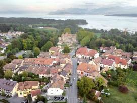 Luftbild Gemeinde Prangins