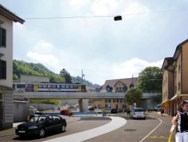 Visualisierung Kreisel Burghalde in Baden