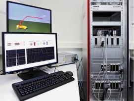 HiL-Plattform des Fraunhofer ITWM