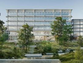 Visualisierung Campus T der ZHAW