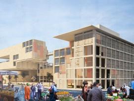Jugendhaus für Sadr City (Visualisierung)