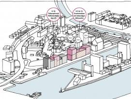 Zukünftige Entwicklung des Ostquais in Basel