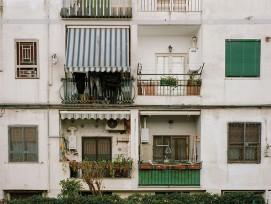 Soziales Wohnungsprojekt