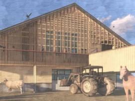 Visualisierung Bauernhof