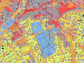 Klimakarte Stadt Aarau (Screenshot)
