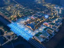 Visualisierung Chengdu Future City Masterplan