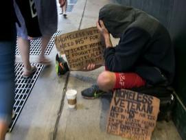Obdachloser (Symbolbild)