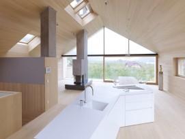 Dachstock Wohnraum Tageslicht