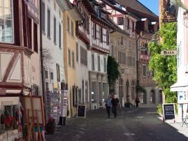 Gasse in Schaffhausen