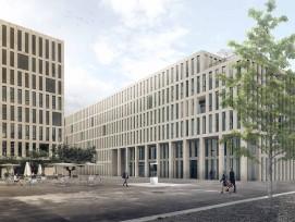 Visualisierung Neubau Verwaltungsgebäude Guisanplatz