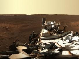 Mars Panorama vom 21. Februar 2021