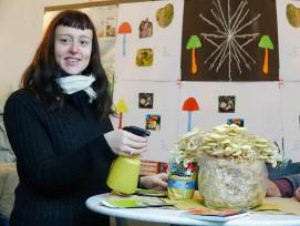 Julia Krayer Fraunhofer Umsicht Werkstoffe auf Pilzbasis